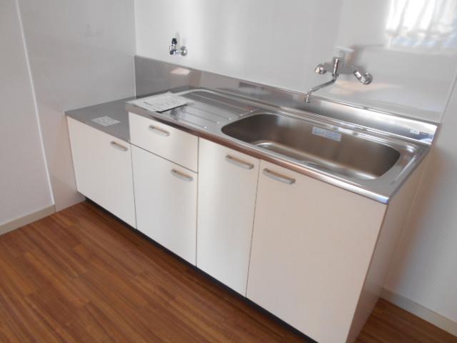 ジュネス藤 31号室のキッチン