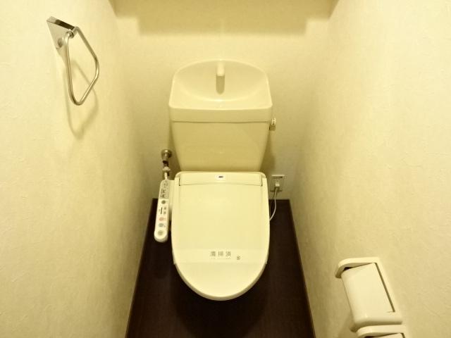 コンフォース鳩山 00103号室のトイレ