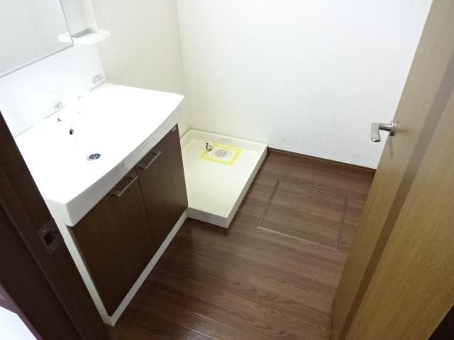 コンフォース鳩山 00103号室の洗面所