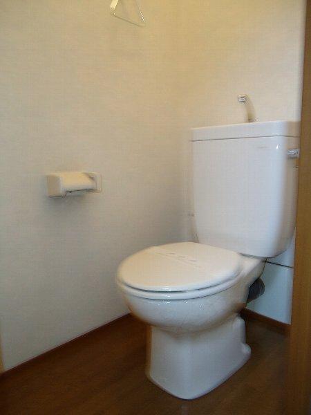 アンジェⅢ 201号室のトイレ