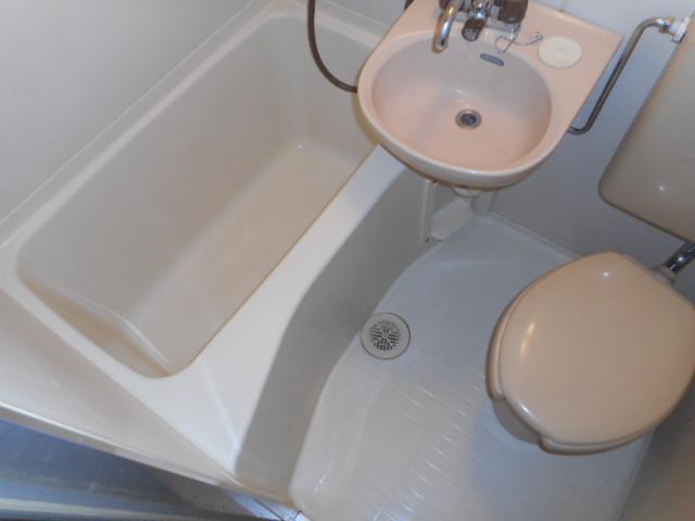 ブリランテ上福岡 302号室の風呂