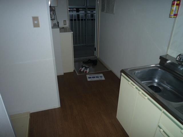 シティハイツⅡ 205号室のキッチン