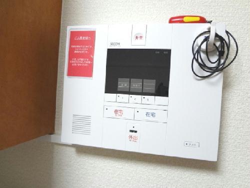 レオパレスHAYASHI1 103号室のセキュリティ