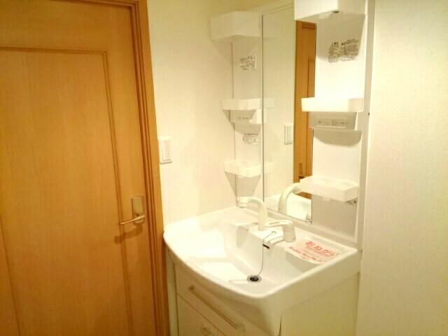 グロワール 03040号室の洗面所