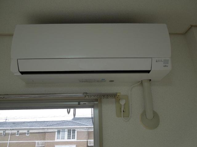 グリーンハイツふじA 00206号室のキッチン