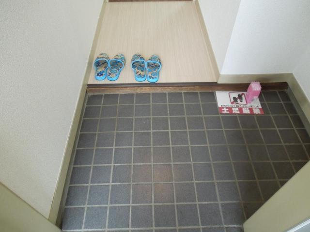 グリーンハイツふじA 00206号室の洗面所