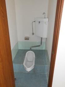 コーポ裾野B棟 305号室のトイレ