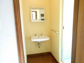 コーポ裾野B棟 305号室の洗面所