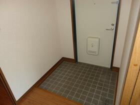 ヴァンベール 202号室の玄関