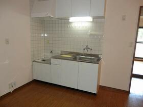 ヴァンベール 202号室のキッチン