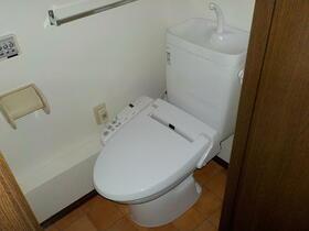 シティハイム御殿場 205号室のトイレ