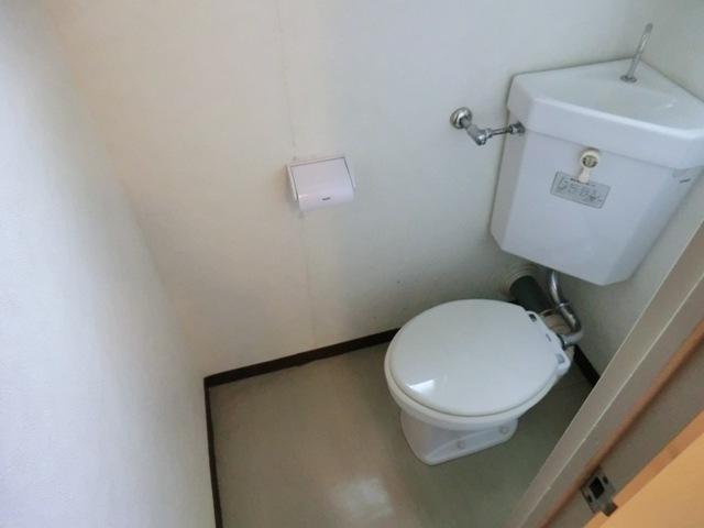 第1西形マンション 205号室のトイレ