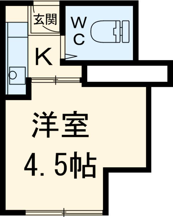 MAISON DAITO 309号室の間取り