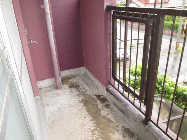 西川手ビル 301号室のバルコニー