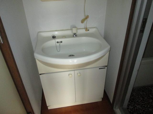 西川手ビル 301号室の洗面所