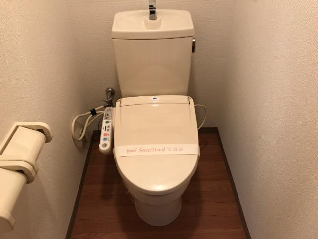 STELLA MARIS 202号室のトイレ