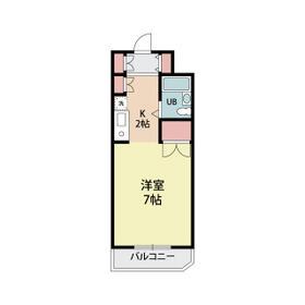 コアクレスト浦和・305号室の間取り