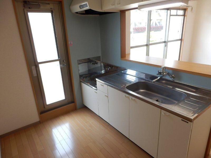 ハイビスカス辰巳 301号室のキッチン