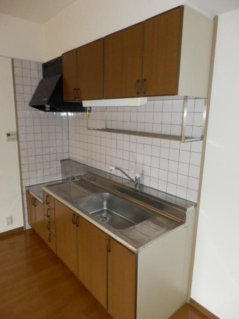 サンメゾン大宮 202号室のキッチン