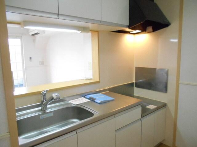 マーヴェラス ヴィラ D棟 02010号室のキッチン