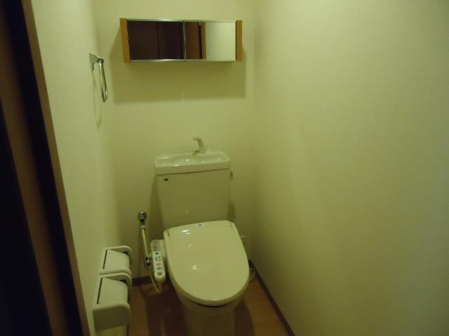 クローバー 303号室のトイレ