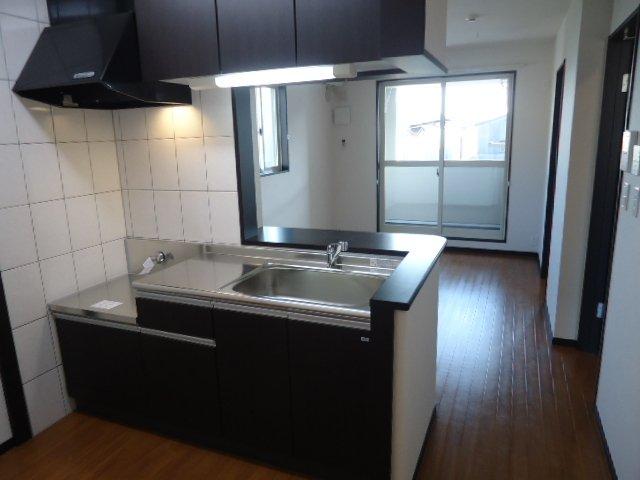 フェリーチェⅠ 202号室のキッチン