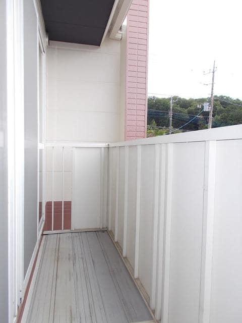サンライズK'S 02030号室のバルコニー