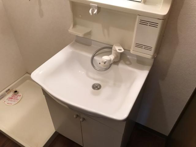 ハロー・21B 101号室の洗面所