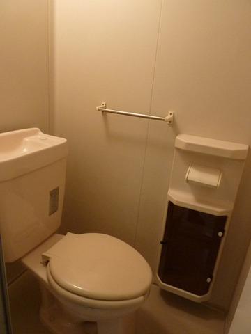 リバーサイド戸田A 102号室のトイレ