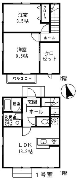 GREEN・COURT KURAMAE・B1号室の間取り