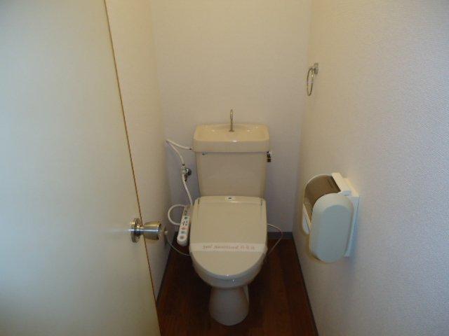 レインボー S・R 00101号室のトイレ