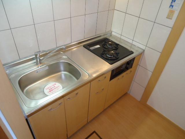 ガーデンヴィラTY・Ⅲ 107号室のキッチン