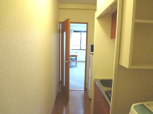 レオパレスエンジェルの館 202号室のリビング