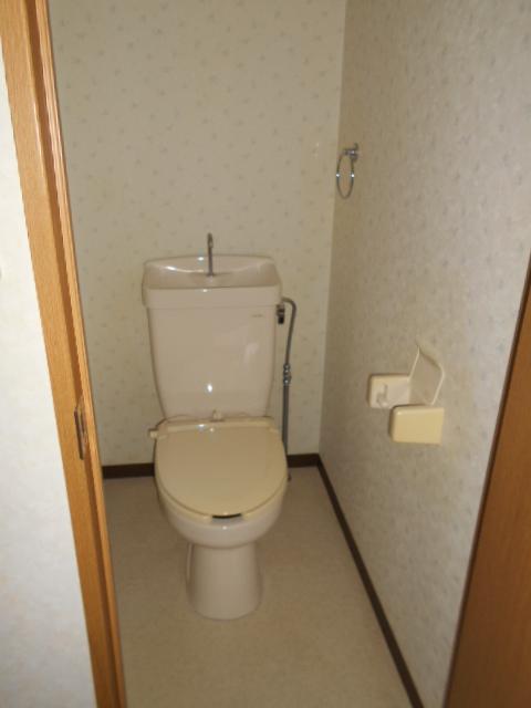 新宿マンション 201号室のトイレ