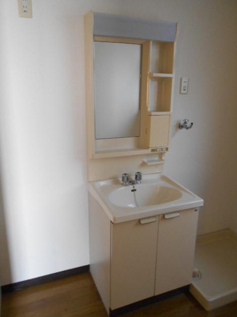 新宿マンション 201号室の洗面所