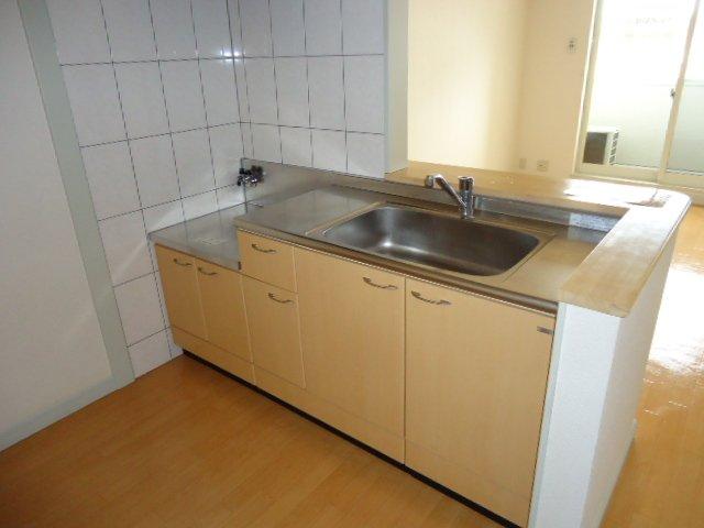 ハイムツースリー 203号室のキッチン