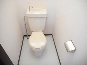 サンハイツ6 203号室のトイレ