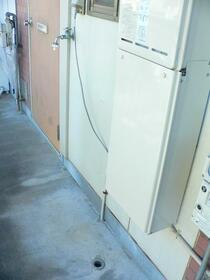 サンハイツ6 203号室の玄関