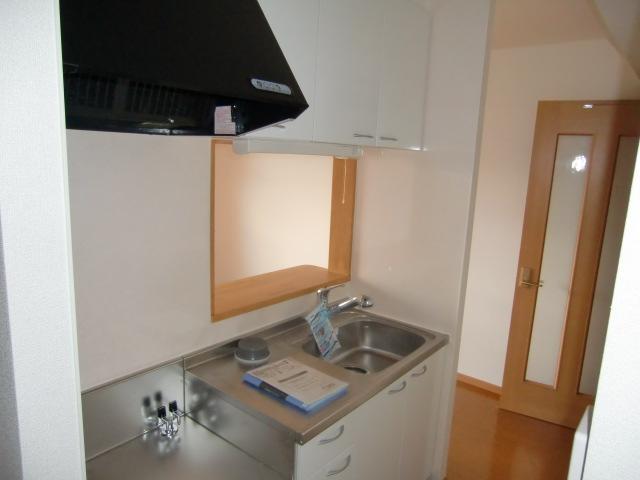 グロワール 03030号室のキッチン