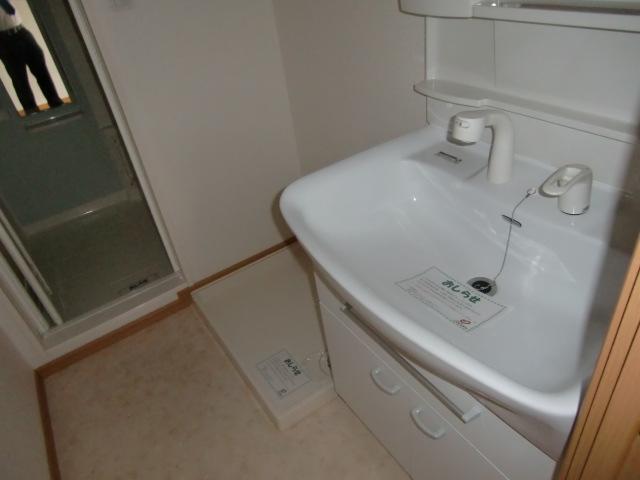 グロワール 03030号室の洗面所