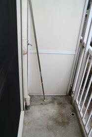 グリーンパーク 103号室のバルコニー