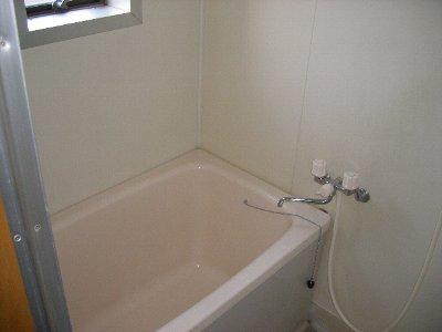 ハイツ飯野 201号室の風呂