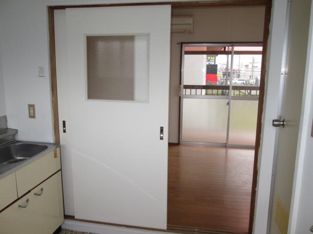 ジアイアン大山 201号室のキッチン
