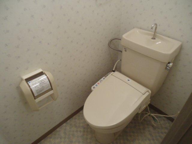アーバンハイツ・メロディー 203号室のトイレ