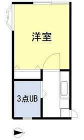 ラディシュ川田・206号室の間取り