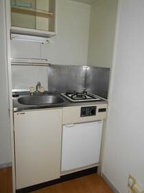 メゾン東大宮 203号室のキッチン