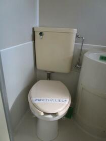 コーポ中井 0203号室のトイレ