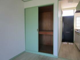 コーポ中井 0203号室の収納