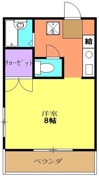 松倉ビル・3-A号室の間取り