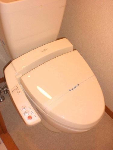レオパレスフレンズ 207号室のトイレ